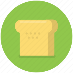 bakery, bread, breakfast, food, sandwich, slice, toast icon
