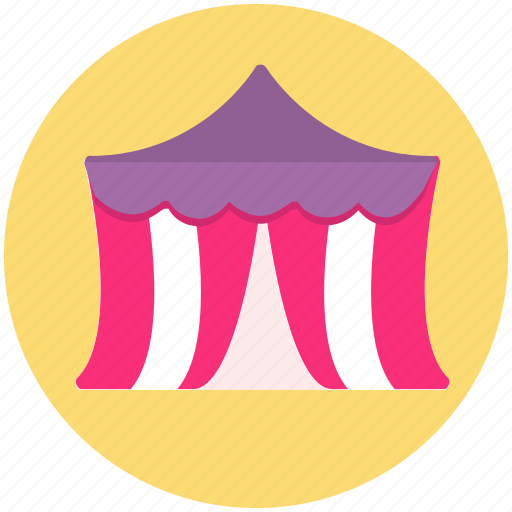 camp, camping, circus, festival, tent icon