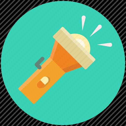 Flashlight, flash, lamp, light, pocket, torch icon - Download on Iconfinder