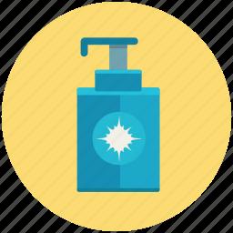 bathroom, clean, cream, hand, lotion, soap icon