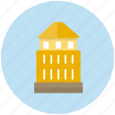 building, construction, estate, large, tower icon