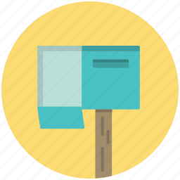 box, communication, inbox, letter, mail, mailbox icon