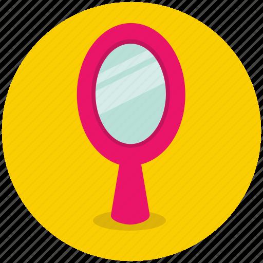 bathroom, beauty, hand, mirror, reflection icon