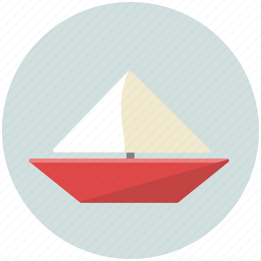 boat, ocean, sail, sea, water, yacht icon