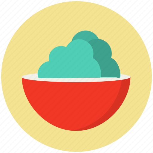 bowl, food, lettuce, meal, salad, vegetable icon