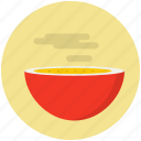 bowl, cooking, food, hot, meal, noodles, soup icon