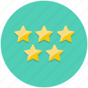 achievement, award, bookmark, favourite, rating, star icon