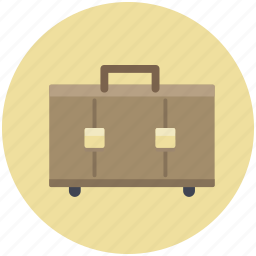 bag, baggage, briefcase, luggage, suitcase, travel icon