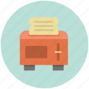 appliance, bread, kitchen, toast, toaster icon