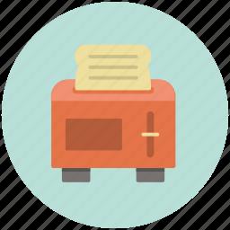 appliance, bread, kitchen, toast, toaster icon