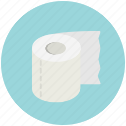 bathroom, hygiene, paper, restroom, toilet icon