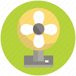 fan, furnishing, furniture, home, interior, ventilator icon