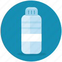 beverage, bottle, drink, plastic, water icon