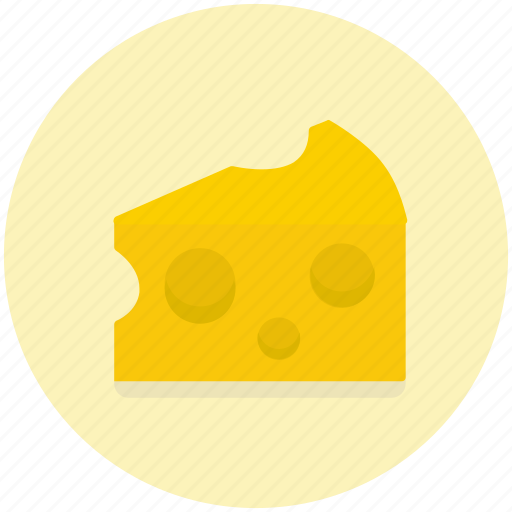 cheese, dairy, food, piece, product, slice icon