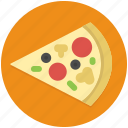 pizza, fast, food, italian, junk, restaurant, slice