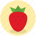 berry, food, fruit, healthy, strawberry, sweet icon