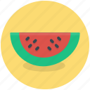 food, fruit, healthy, melon, piece, watermelon icon