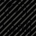 bar graph, dashboard, optimization, seo performance, speedometer icon