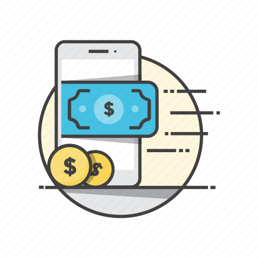 business, finance, marketing, mobile, payment icon