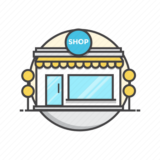 commerce, my, shop, shopping, store icon