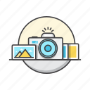image, media, multimedia, photo, photography icon