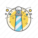 business, find, search, view, vision icon