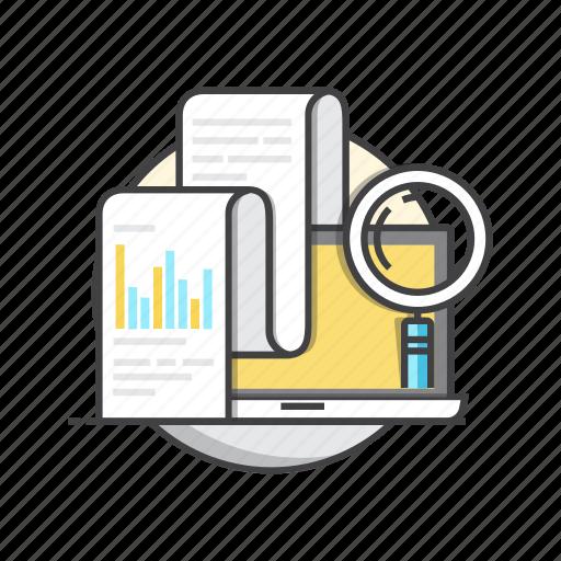 analysis, business, diagram, report, statistics icon