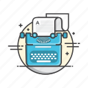 copy, duplicate, write, writing icon