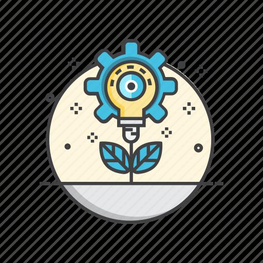 best, bulb, creative, growth, idea, light icon