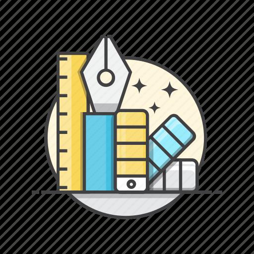 creative, design, graphic, tools icon
