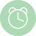 alarm clock, alarrm, clock, schedule, time, watch icon