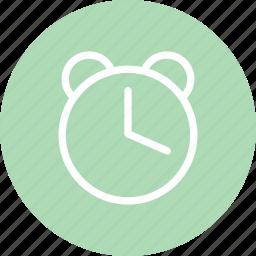alarm clock, alarrm, clock, schedule, time, watch icon
