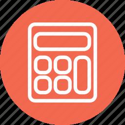 calculation, calculator, calculator icon, calculator sign, math icon