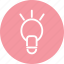 bulbe, idea, idea icon, lamp, light, smart, startup icon