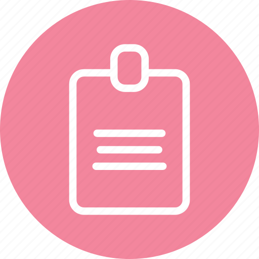 certificate, document, note, paper icon