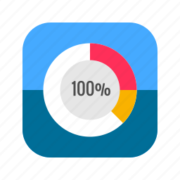 analysis, analytics, app, business, mobile, report, reporting icon