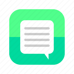 app, chat, connect, contact, messenger, mobile, smart phone icon