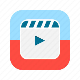 app, editor, mobile, movie, player, video icon