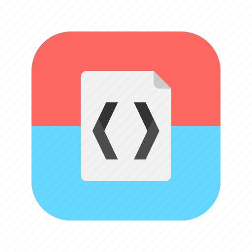 app, application, code, coding, mobile, programming icon
