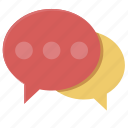 bubble, chat, communication, message, talk icon