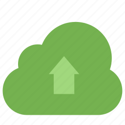 arrow, cloud, computing, data, network, storage, upload icon