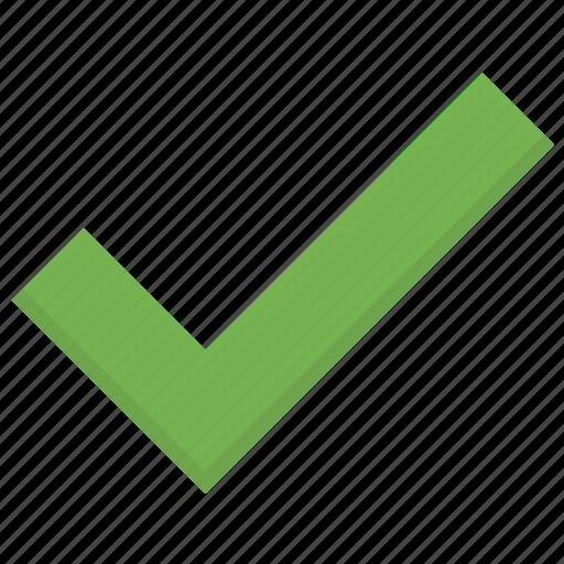 accept, checkmark, done, mark, success, tick icon