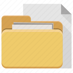 data, document, documents, files, folder, storage icon