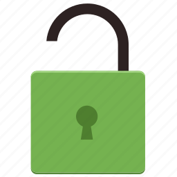 access, password, protection, secure, security, unlock icon