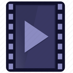 film, multimedia, play, player, video icon