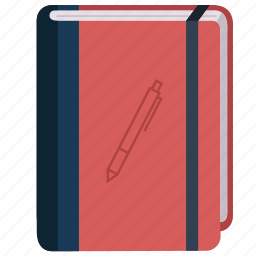 address, book, learning, notebook, study, writing icon