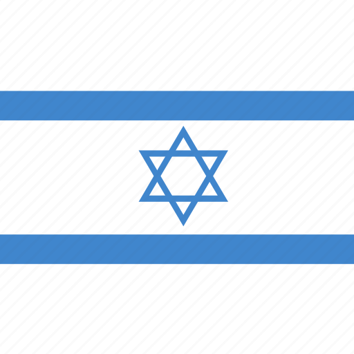 israel, rectangle, round icon