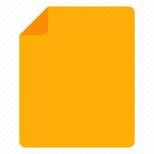 document, file, paper, warning icon