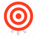 mission, target icon