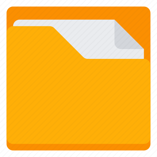 Busy, document, folder, open icon - Download on Iconfinder